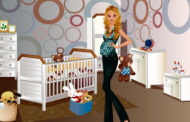 juego moda enbarazada
