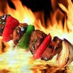 Pinchos de kebab
