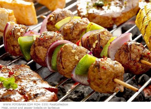 pincho kebab verdura