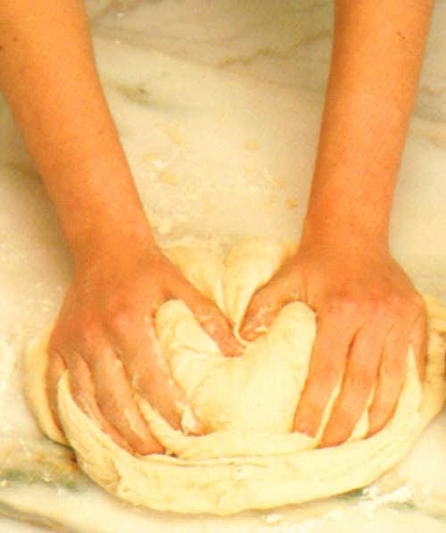 brioche relleno salchicha preparacion