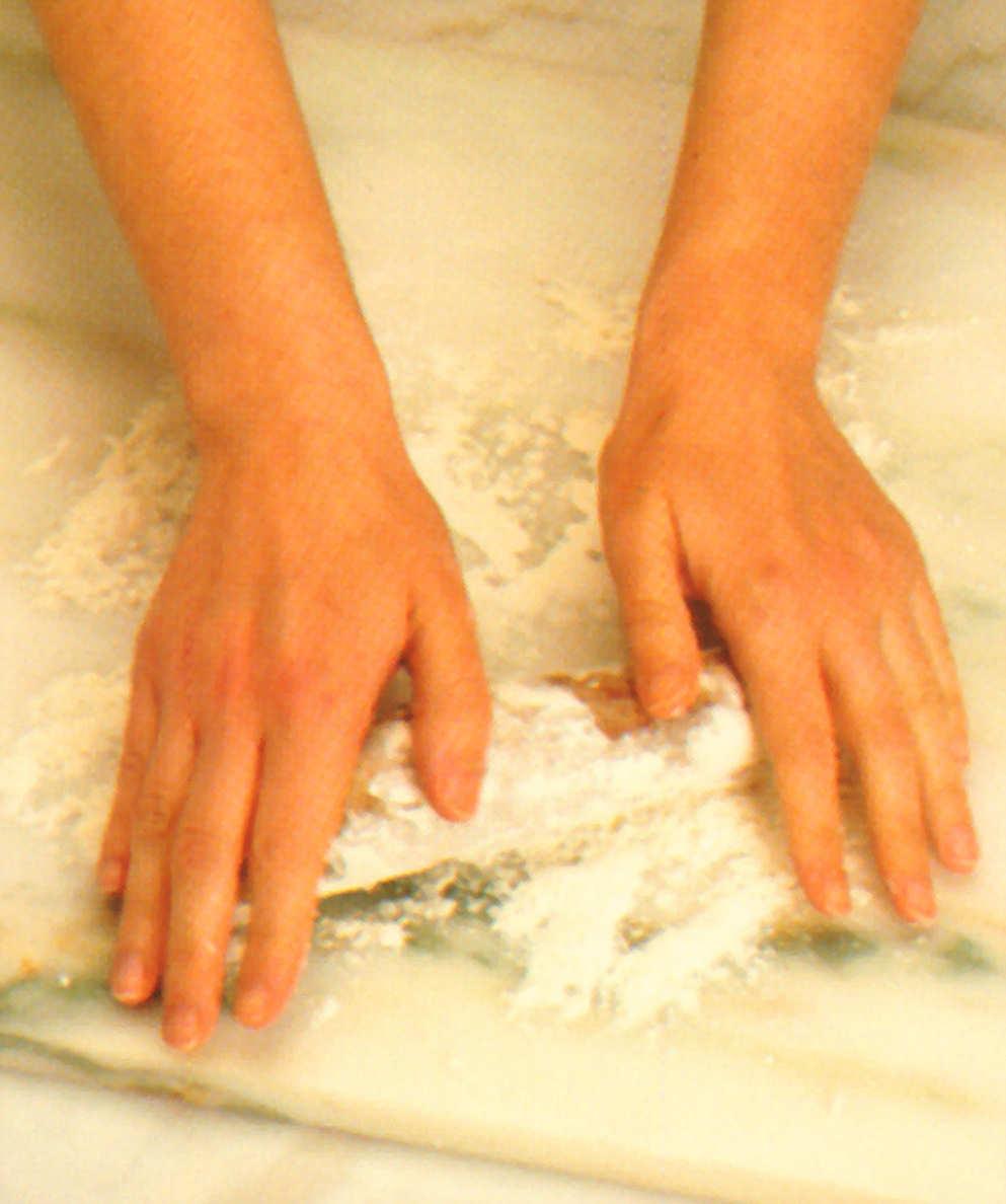 brioche relleno salchicha tapas