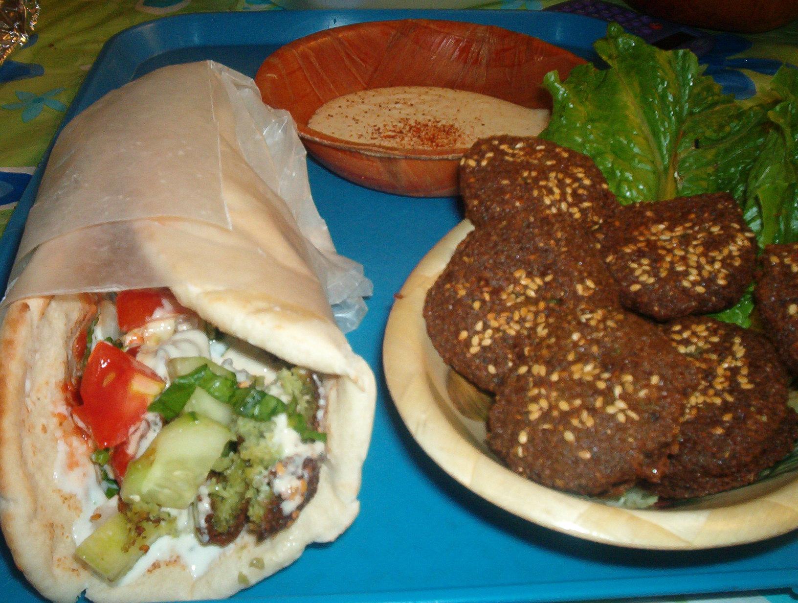 falafel-burrito