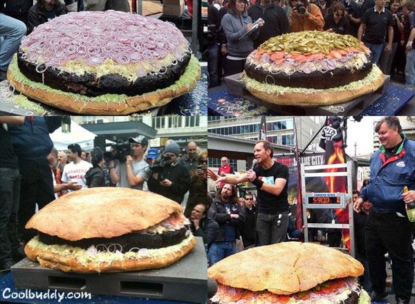 hamburgesa gigante