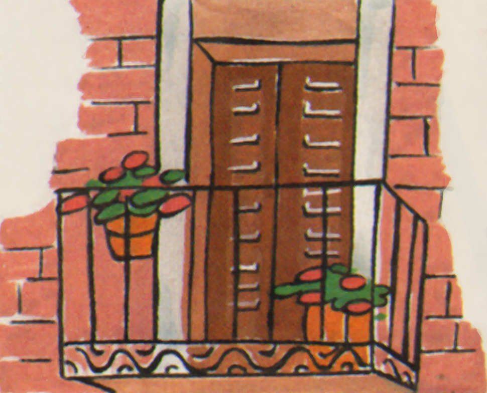 macetas balcon decoracion color