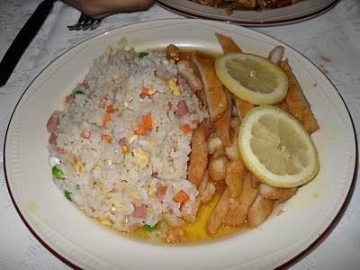 polo limon arroz tres delicias