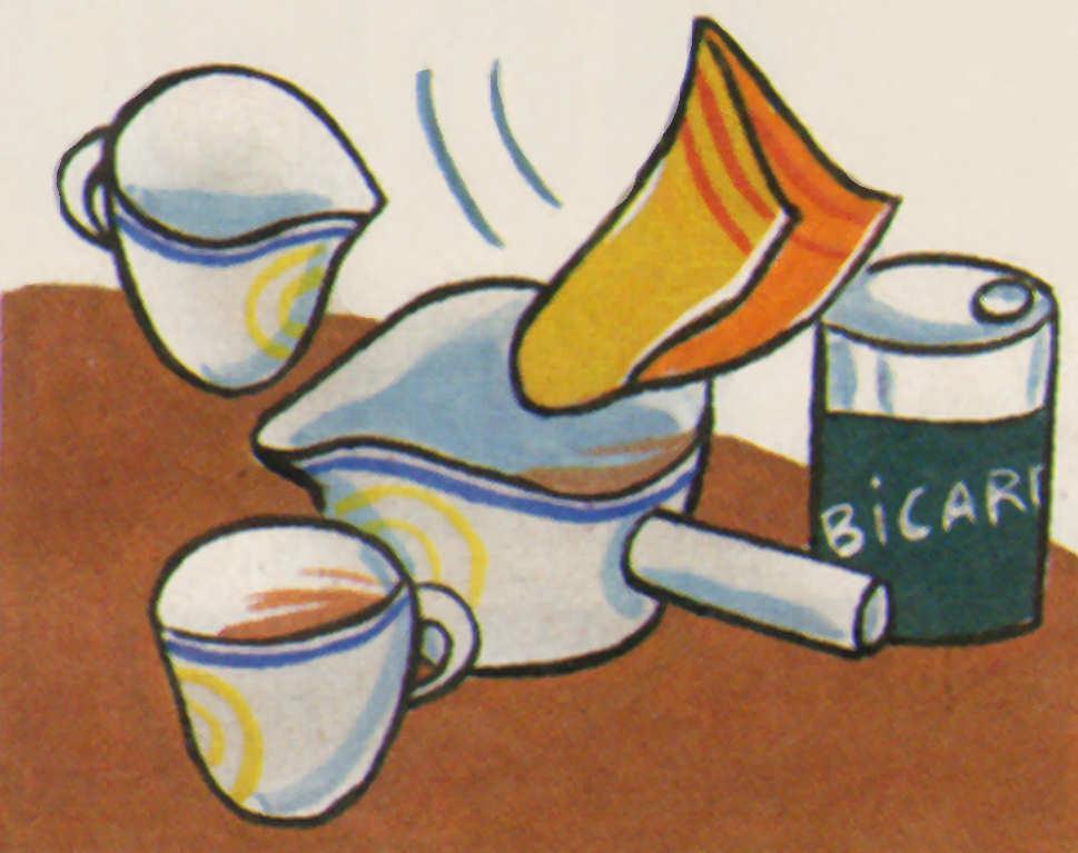 truco limpiar porcelana manchas