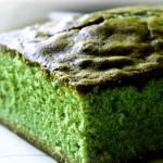 Receta de bizcocho de té verde