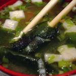 Receta de sopa miso clásica
