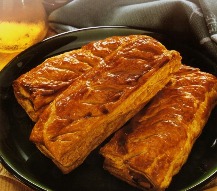 Hojaldres rellenos de carne receta pastel carne