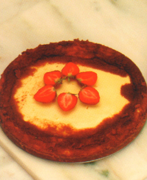 tarta de queso postre receta pasteleria