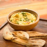 Paté de garbanzos, no hummus