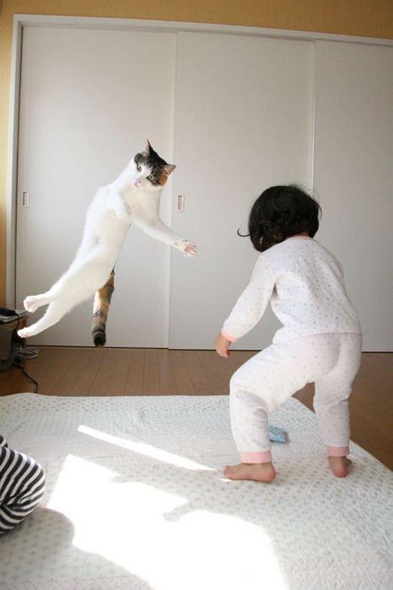 niña-gato