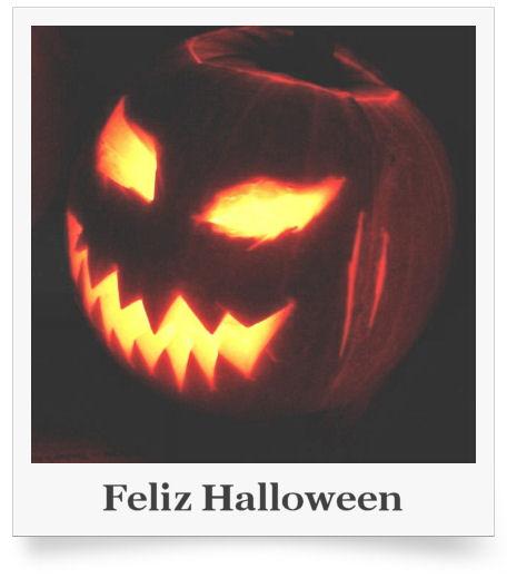 feliz halloween jack-o-lantern