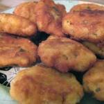 Recetas de pelotas de carne, y pan para los cocidos