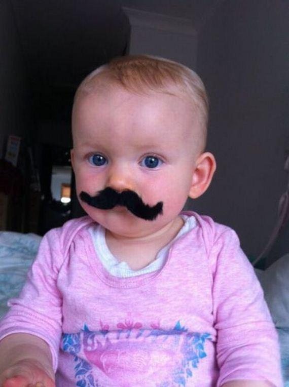 bebe bigote