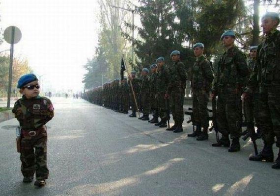 bebe militar