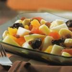 Ensalada de frutas de invierno