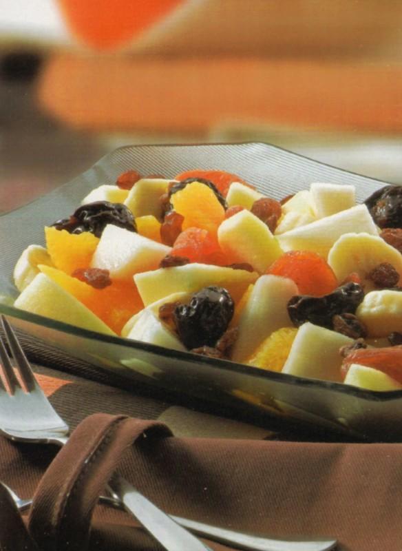ensalada frutas invierno