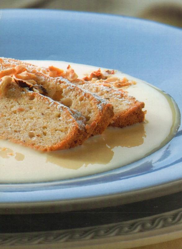 pastel avellanas postre receta