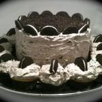 Receta fácil de tarta de chocolate y galletas