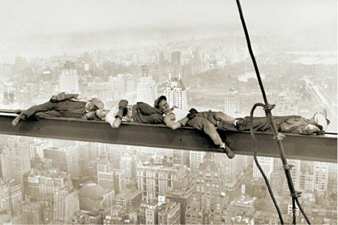 trabajadores descansando 2