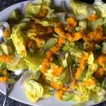 Aliño de jengibre y limón para ensaladas