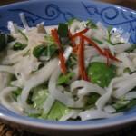 Aliño de leche de coco para ensaladas