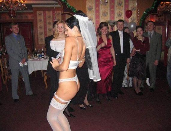 novia desmadrada