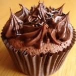 Cobertura de chocolate para cupcakes