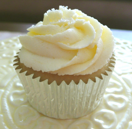 cobertura vainilla cupcakes