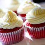 Cupcakes Terciopelo Rojo