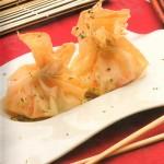 Bolsitas de salpicón con frutos de mar
