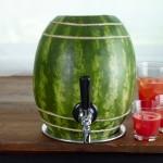 Sandias o melón de agua, decoradas y originales