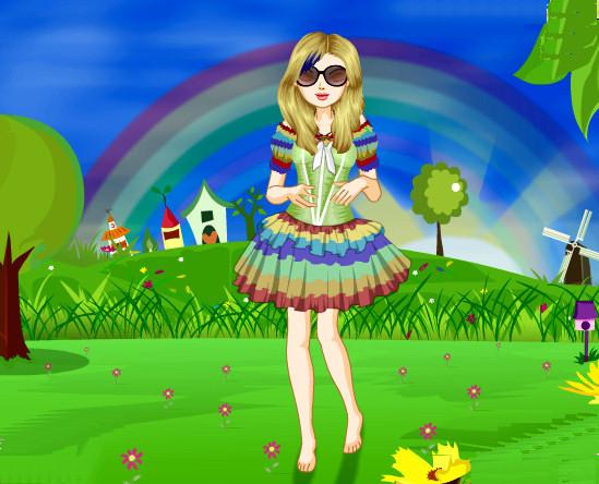 juego-mil-vestidos-arco-iris