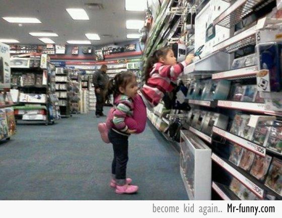 niñas-supermercado