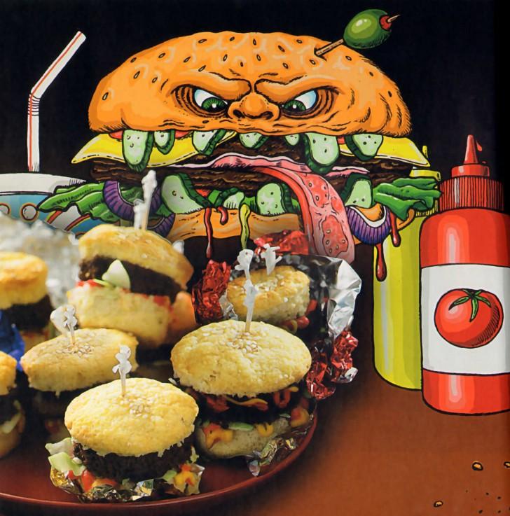 cupcakes aperitivo zombi