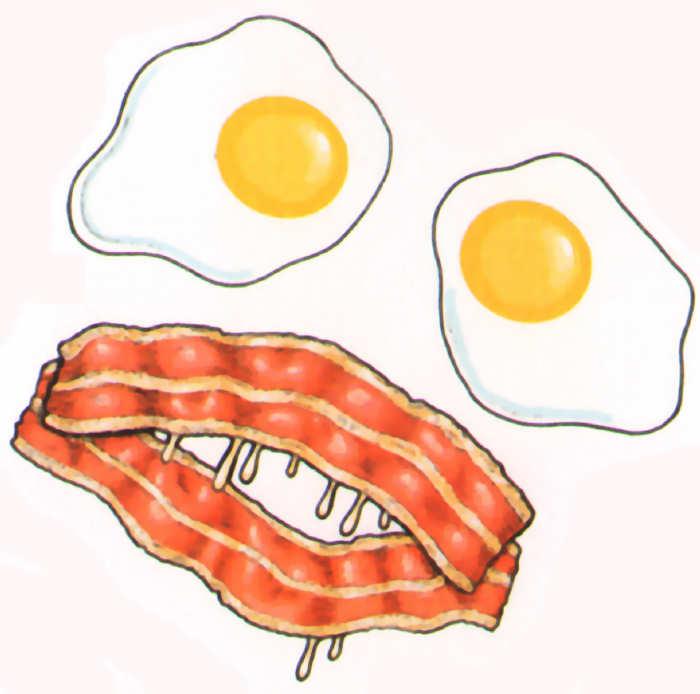 huevos bacon halloween terror