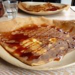 Crepes con salsa de arequipe