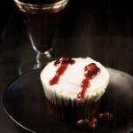 Cupcakes Besos de Drácula