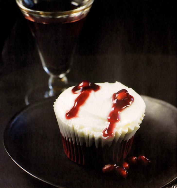 cupcakes besos dracula