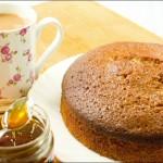 Pastel de galletas y miel