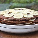 Receta light, crepes con chocolate