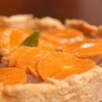 Tarta de mandarina y nueces
