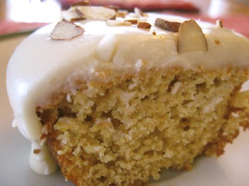 cupcake limon almendra reposteria