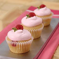 cupcakes frambuesa fruta