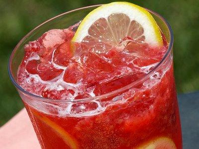 limonada-frambuesas-limon
