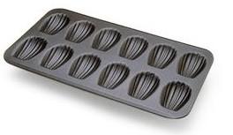 placa molde madeleines