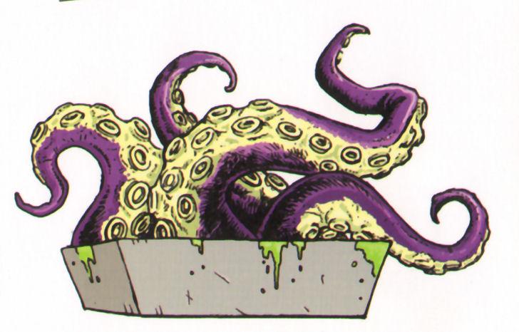 pulpo tentaculos postre terror