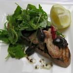 Tostada de sardinas