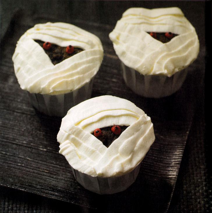 Cupcakes Momias Monstruosas